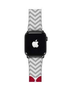 Chevron Heart Apple Watch Band 42-44mm
