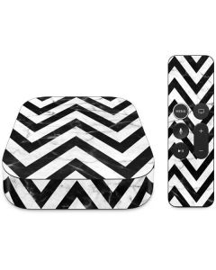 Chevron Marble Apple TV Skin