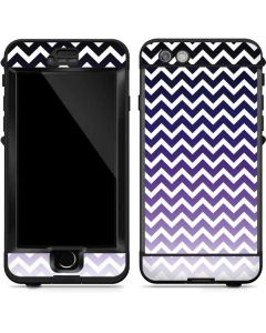Chevron Purple Ombre LifeProof Nuud iPhone Skin