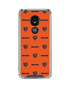Chicago Bears Blitz Series Moto G7 Power Clear Case