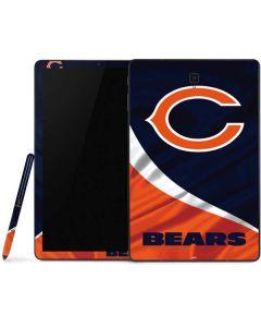 Chicago Bears Samsung Galaxy Tab Skin