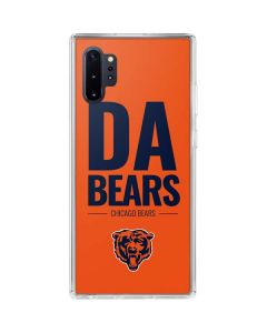 Chicago Bears Team Motto Galaxy Note 10 Plus Clear Case