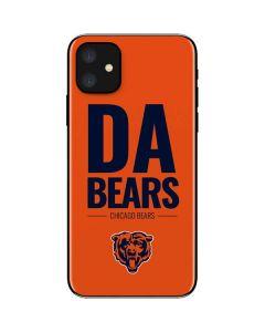 Chicago Bears Team Motto iPhone 11 Skin