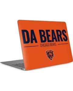 Chicago Bears Team Motto Apple MacBook Air Skin