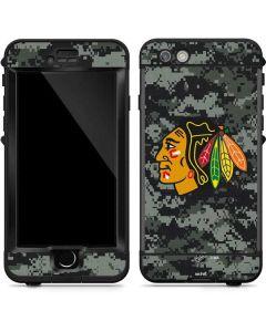 Chicago Blackhawks Camo LifeProof Nuud iPhone Skin