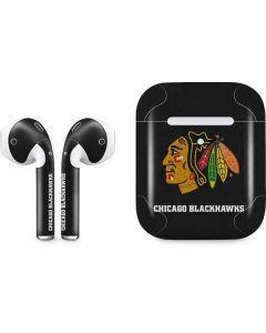 Chicago Blackhawks Distressed Apple AirPods 2 Skin