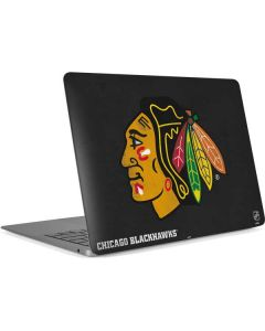 Chicago Blackhawks Distressed Apple MacBook Air Skin