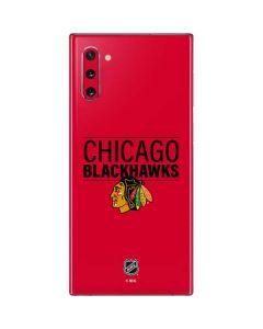 Chicago Blackhawks Lineup Galaxy Note 10 Skin