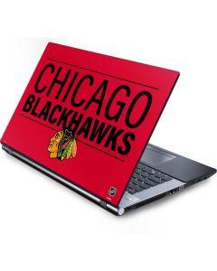 Chicago Blackhawks Lineup Generic Laptop Skin
