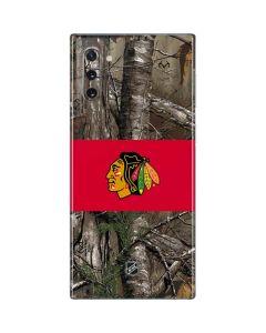 Chicago Blackhawks Realtree Xtra Camo Galaxy Note 10 Skin