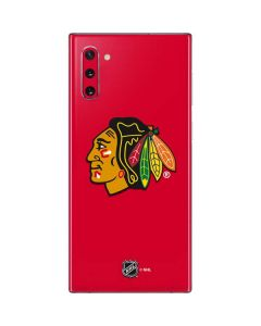 Chicago Blackhawks Solid Background Galaxy Note 10 Skin