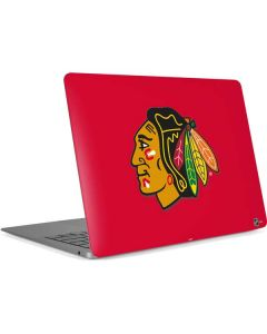 Chicago Blackhawks Solid Background Apple MacBook Air Skin