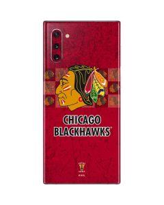 Chicago Blackhawks Vintage Galaxy Note 10 Skin