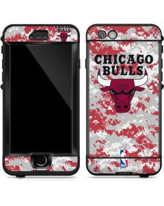 Chicago Bulls Digi Camo LifeProof Nuud iPhone Skin