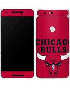 Chicago Bulls Large Logo Google Nexus 6P Skin
