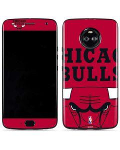 Chicago Bulls Large Logo Moto X4 Skin