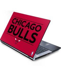 Chicago Bulls Standard - Red Generic Laptop Skin