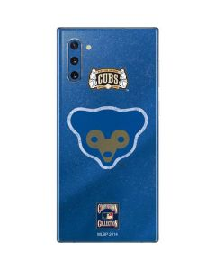 Chicago Cubs - Cooperstown Distressed Galaxy Note 10 Skin