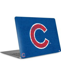 Chicago Cubs - Solid Distressed Apple MacBook Air Skin