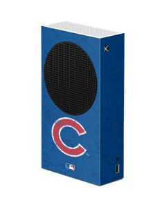 Chicago Cubs - Solid Distressed Xbox Series S Console Skin