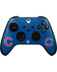 Chicago Cubs - Solid Distressed Xbox Series X Controller Skin