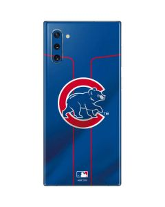 Chicago Cubs Alternate/Away Jersey Galaxy Note 10 Skin