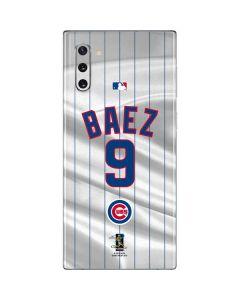 Chicago Cubs Baez #9 Galaxy Note 10 Skin