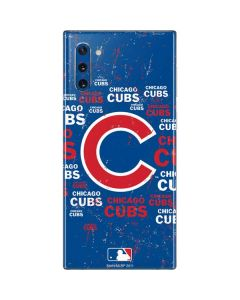 Chicago Cubs -Cap Logo Blast Galaxy Note 10 Skin