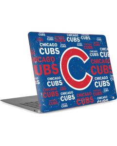 Chicago Cubs -Cap Logo Blast Apple MacBook Air Skin