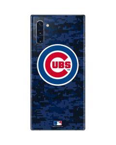 Chicago Cubs Digi Camo Galaxy Note 10 Skin