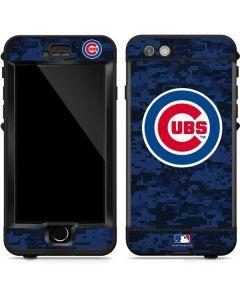 Chicago Cubs Digi Camo LifeProof Nuud iPhone Skin