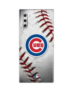 Chicago Cubs Game Ball Galaxy Note 10 Skin