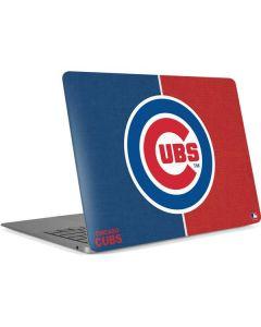 Chicago Cubs Split Apple MacBook Air Skin