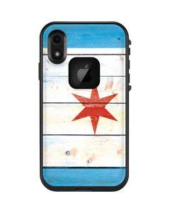 Chicago Flag Light Wood LifeProof Fre iPhone Skin