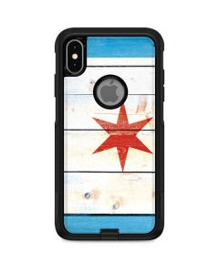 Chicago Flag Light Wood Otterbox Commuter iPhone Skin