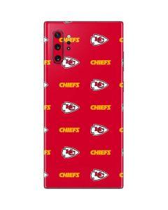 Kansas City Chiefs Blitz Series Galaxy Note 10 Plus Skin