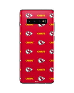 Kansas City Chiefs Blitz Series Galaxy S10 Plus Skin