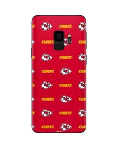Kansas City Chiefs Blitz Series Galaxy S9 Skin