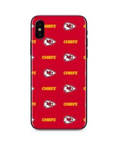 Kansas City Chiefs Blitz Series iPhone XS Max Skin