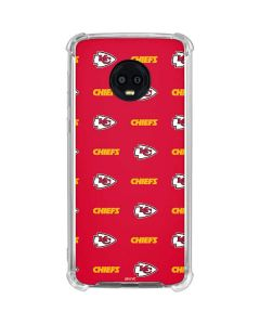 Kansas City Chiefs Blitz Series Moto G6 Clear Case
