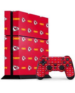 Kansas City Chiefs Blitz Series PS4 Console and Controller Bundle Skin