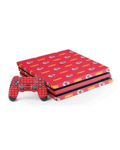 Kansas City Chiefs Blitz Series PS4 Pro Bundle Skin