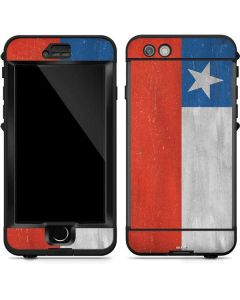 Chile Flag Distressed LifeProof Nuud iPhone Skin