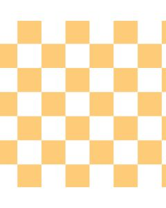 Yellow and White Checkerboard LifeProof Nuud iPhone Skin