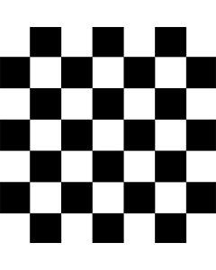 Black and White Checkered AWS DeepRacer Skin