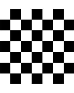 Black and White Checkered Wii Remote Controller Skin