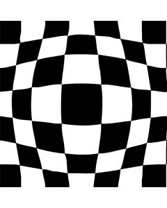 Black and White Zoomed Checkerboard LifeProof Nuud iPhone Skin