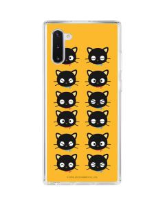 Chococat Expressions Galaxy Note 10 Clear Case