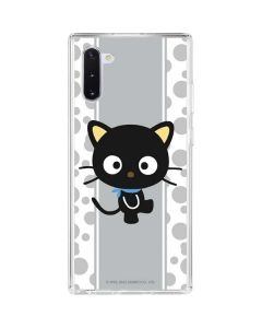 Chococat Stripes Galaxy Note 10 Clear Case