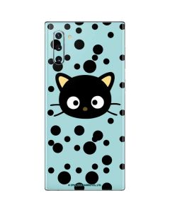 Chococat Teal Galaxy Note 10 Skin